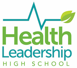 Health Leadership High School Logo