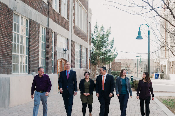The Future Focused Education team walking together