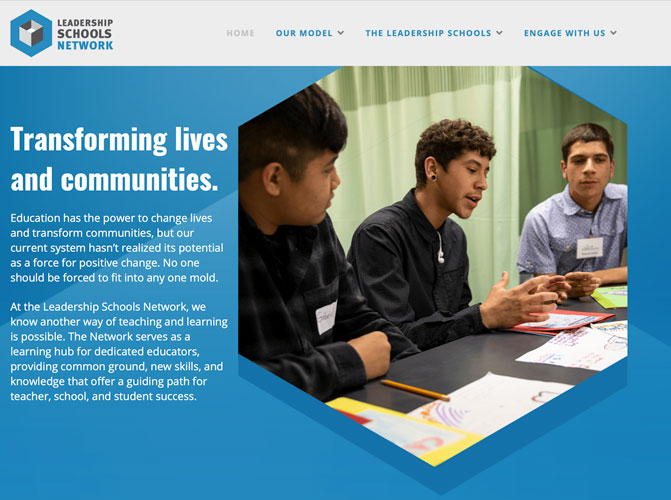 "Featured image for ""Leadership Schools Network website"""